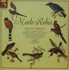 Mado Robin(Vinyl LP Gatefold)Chants D'Oiseaux-HMV-053 11691-France-1958-NM/NM