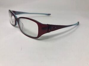 OAKLEY MACCHIATO 2.0 Eyeglasses Frame Womens 51-16-130 Raspberry Clear QL37
