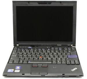 "Lenovo ThinkPad X201 12.5"" Laptop, i5-m520 2.4Ghz, 8Gb RAM, 120Gb SSD, Win 10 (1"