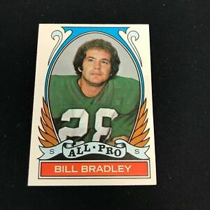 1972 Topps #286 BILL BRADLEY All Pro Philadelphia Eagles NRMT *AY32