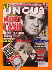 rivista UNCUT 141/2009 CD Johnny Cash Patti Smith Who Animal Collective Blur