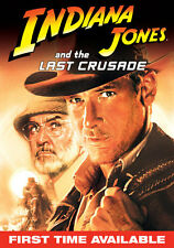 Indiana Jones Last Crusade Widescreen DVD with Slipcover English French Spanish