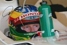 Mike Conway Hand Signed Honda F1 12x8 Photo 5.