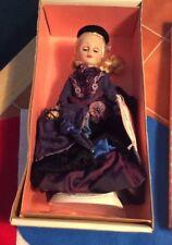 "Effanbee Doll Diana Ladies of Elegance 12"" Victorian Dress MV145 With Box"