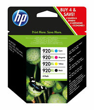 Multipack de tinta impresora HP 920xl C2n92ae Officejet