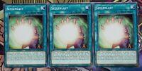3x Seelenlast DLCS-DE016 COMMON DEUTSCH 1.AUFLAGE PLAYSET NM Yu-Gi-Oh!