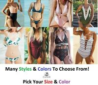 Cupshe Fashion Swimsuit Beach Swimwear Bathing Suits Most Styles Available NEW!