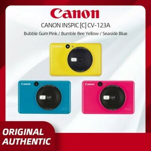 """Canon Inspic C CV-123A or S ZV-123A - Instant Camera 2"""" x 3"""" ZInk Printer - Syd"""