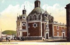 Mexico City Mexico~Guadelupe Basilica Chapel~Close Up~1908 Postcard