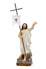 Jesus resurrection resin statue cm. 35