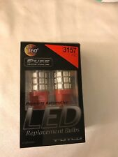 Putco Red 3157 Type 360-Degree High Intensity LED Premium Replacement Bulb
