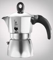 Bialetti caffettiera Dama Nuova in alluminio 2 tazze caffè moka espresso