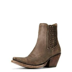 Ariat Women's Eclipse Naturally Distressed Brown Ankle Boot 10033889