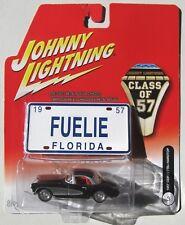 JOHNNY LIGHTNING - CLASS OF 57 - 1957 CHEVY CORVETTE HARDTOP pl #3 14