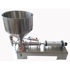 110V Filling Machine 5-100ml for Paste and Liquid with Single Head for Cream
