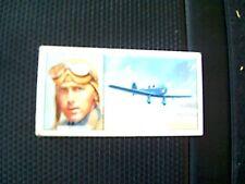 65-2 cigarette card carreras famous airmen no 45 h.f. broadbent