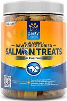 Freeze Dried Salmon Treats, ZENWISE, 4.5 oz