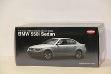 1/18 KYOSHO BMW 550i SEDAN PEARL SILVER ,  NEW , 08594PS