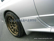 FRP FIBER GLASS EAST-BEAR SIDE SKIRTS EXTENSIONS FOR NISSAN R32 GTR