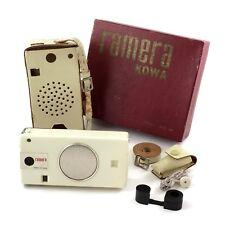 Kowa Ramera KTC-62 6 Transistor Radio and 16mm Camera Outfit, SUPER RARE  #42327
