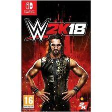 WWE 2K18 (Nintendo Switch)  GAME NEW