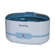 600 ML Ultrasonic Cleaner Bath For Cleaning Jewelry Glasses Circuit Board Blue