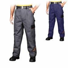 Sicherhetshose Arbeitshose Bundhose Arbeitskleidung Schutzkleidung blau grau