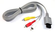 Official Nintendo Brand AV Cables for Wii & Wii U - Genuine OEM (RVL-009)