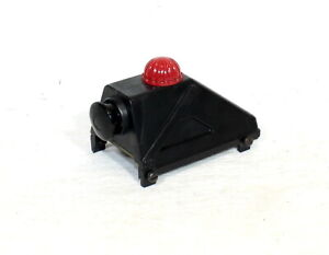 Postwar Lionel #260 Illuminated Track Bumper~Scarce Black Plastic~Nice Orig!