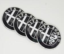 56.5mm 4Pcs Car Logo Wheel Center Caps Covers Emblems Stickers For Alfa Romeo