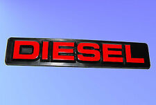 DIESEL Badge- For General Use - Adhesive - NEW