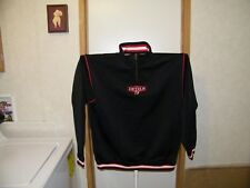 NHL NEW JERSEY DEVILS PRO PLAYER JACKET XL BLACK OFFICIAL NHL EMBROIDERED NWT