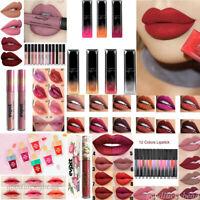 Lots Colors Matte Lipstick Lip Gloss Liquid Long Lasting Waterproof Makeup Tool