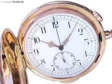 """Invicta Taschenuhr """"Repetition Chronograph"""" Gold ca. 1910"""