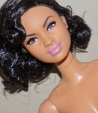 BARBIE KATHERINE JOHNSON DOLL BLACK CURLY HAIR MBILI FACE ARTICULATED AA ETHNIC