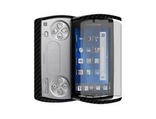 Skinomi Carbon Fiber Film + Screen Protector Cover Skin for Sony Xperia Play
