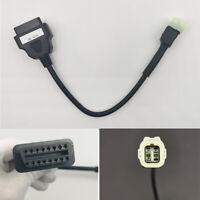 4 Pin OBD2 Diagnostic Code Reader Adapter Scanner Cable for Honda CBR1000RR VFR