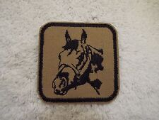 "HORSE Head 3"" Embroidery Iron-on Applique Custom Patch (E6)"