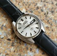 Vintage Seiko Actus SS 25 Jewels  6106 8460 Kanji December 1969 38.5 mm JDM