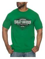 Harley-Davidson Men/'s Eagle Block B/&S Short Sleeve Crew Neck T-Shirt Black