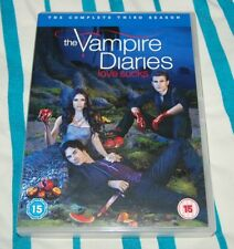 THE VAMPIRE DIARIES ~ Series 3 ~ Complete (DVD, 2012,5-Disc Set, Box Set )