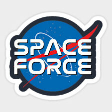 SPACE FORCE NASA Vinyl Wall Decal Room Phone Decor Sticker