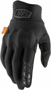 100% MX Motocross COGNITO Gloves (Black/Gray) Choose Size