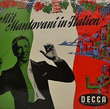 """MIT MANTOVANI IN ITALIEN  10""""  LP (P736)"""