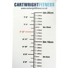 Wall Sticker Height Meter Medical in Metric and Imperial