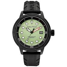 Orologio NAUTICA mod. NMX 601 ref. A17618G Uomo solo tempo gomma e cassa nera