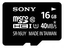 Tarjetas de memoria Sony de microsdhc para teléfonos móviles y PDAs con 16 GB de la tarjeta
