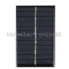 Nuevo 6V 1W módulo de panel solar Hazlo tú mismo para teléfono celular de la batería de luz Juguetes Cargadores