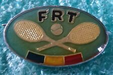 ROMANIAN TENNIS FEDERATION  OLD PIN BADGE
