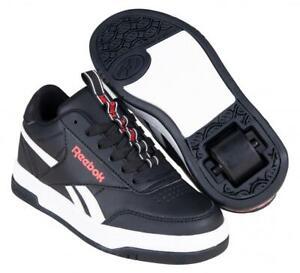 Heelys Reebok CL Court Low Boys Wheelie Shoes Size UK 4 CLEARANCE SALE
